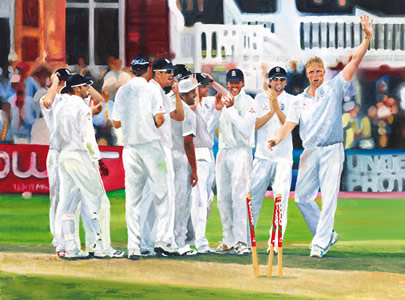 winning ashes team 2009