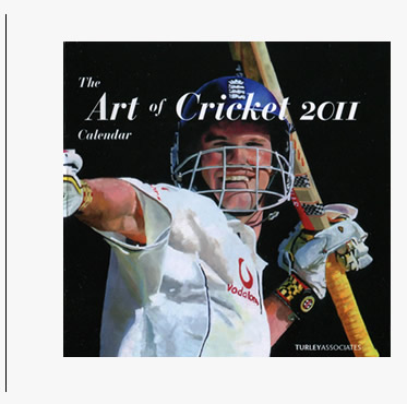 the art of cricket 2011 calendar