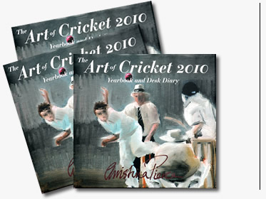 The Art of Cricket 2010 Yearbook and Desk Diary - click to buy one now