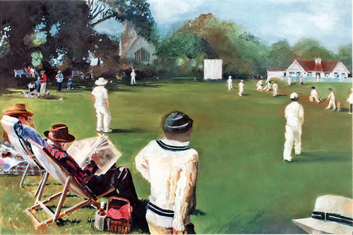 memories by Christina Pierce, cricket artist