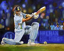 Sachin & boy 48in x 54in oil on canvas by christina pierce, cricket artist