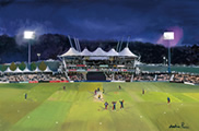 The Rose Bowl - County Ground Hampshire 24in x 36in or 12in x 16in