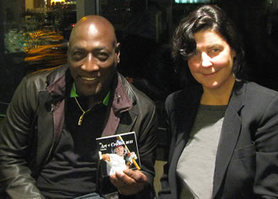 sir viv richards with christina pierce